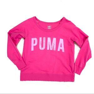 Puma sweatshirt pink sZ:LRG